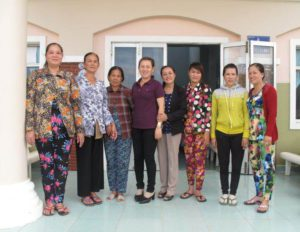 First members of dried fish women cooperative