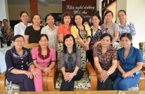 Ben Tre women who joined MCNV capacity training for People Committee election's candidates